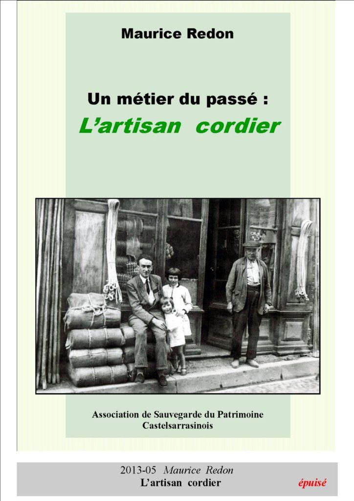 2013-05   l'artisan  cordier