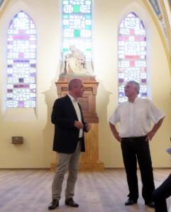 M. le Maire JP Bésiers et B. Ouardes